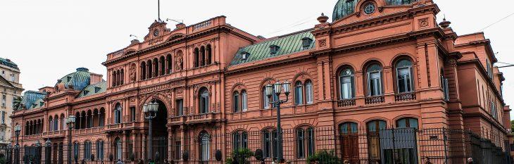 Casa Rosada Buenos Aires Argentina IVA Restituição Imposto
