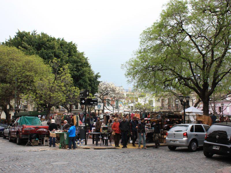 Plaza Dorrego Buenos Aires