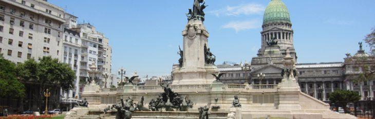 Plaza del Congreso Buenos Aires Argentina