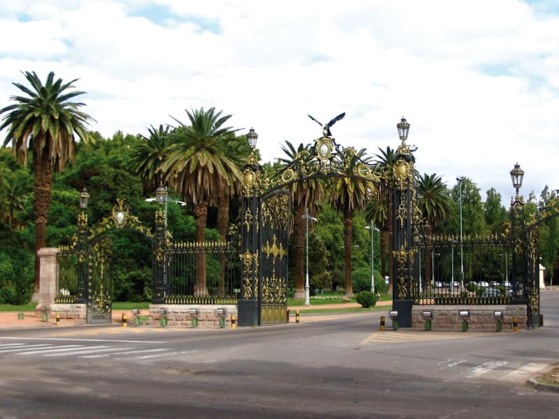 Portones Sur Parque General San Martin Mendoza Argentina