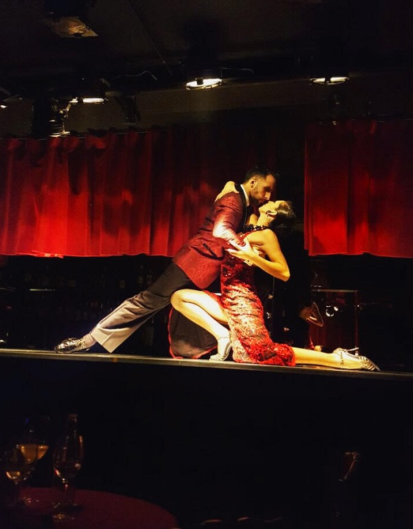 Rojo Tango Faena Hotel Buenos Aires Show de Tango