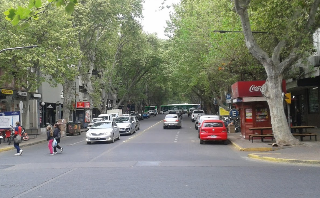Fazendo compras em Mendoza